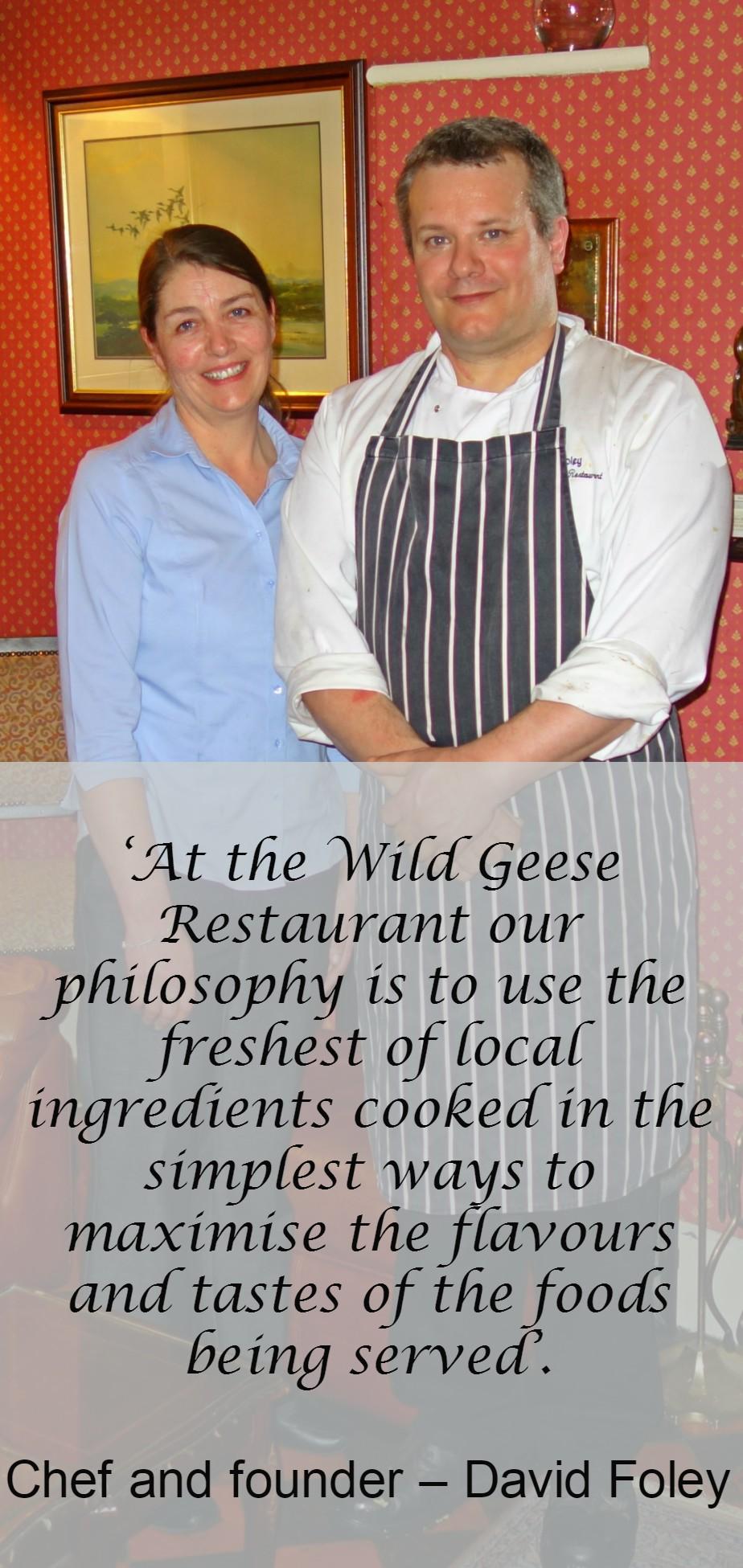 Wild Geese Restaurant Adare